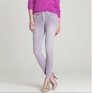 J Crew lavender corduroy pants